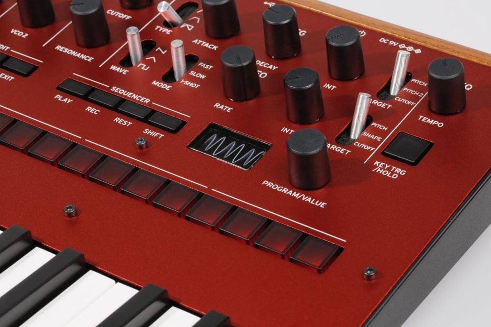 Controles del Korg Monologue
